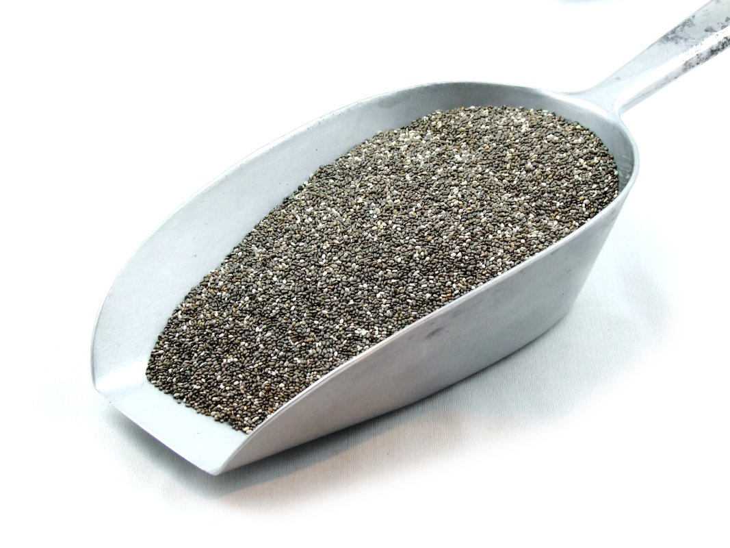 Black & White Chia Seeds Bulk
